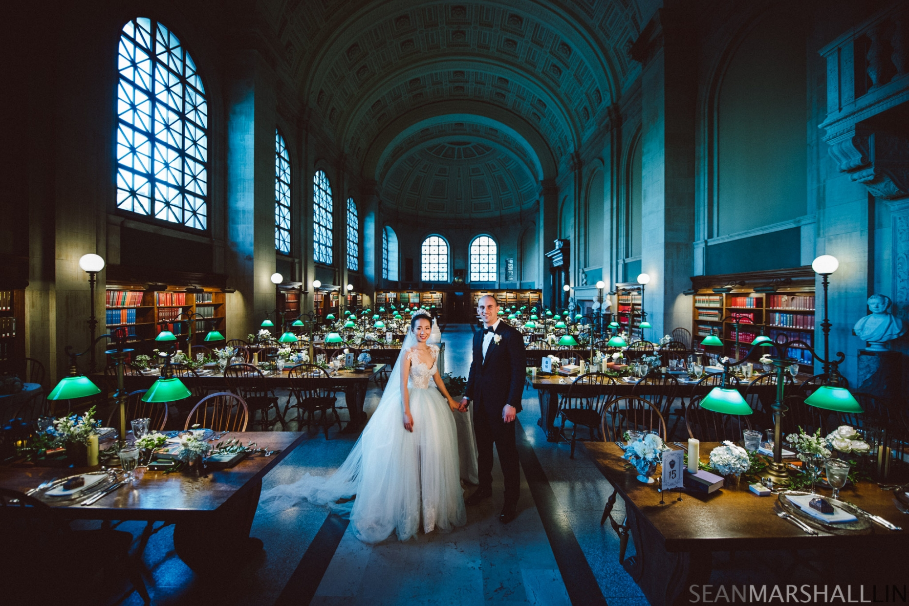Boston Public Library Wedding.Mio Matthew The Boston Public Library Wedding Sean